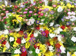 お盆のお供え用花